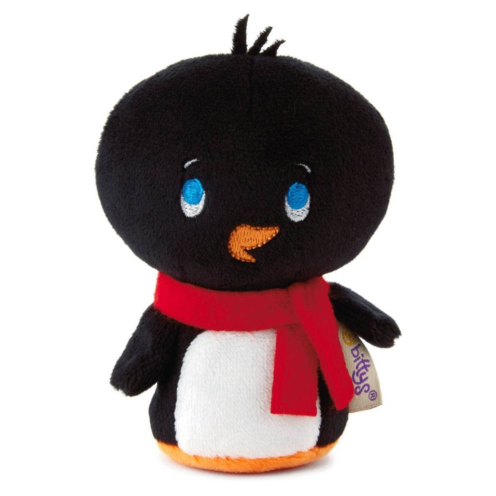 Hallmark itty bittys Frosty Friends Penguin Limited-Edition Holiday Stuffed Animal