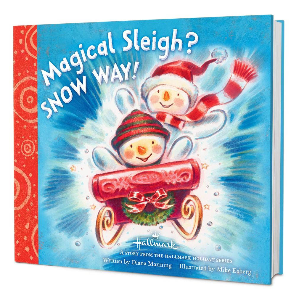 Hallmark Magical Sleigh? Snow Way! Storybook
