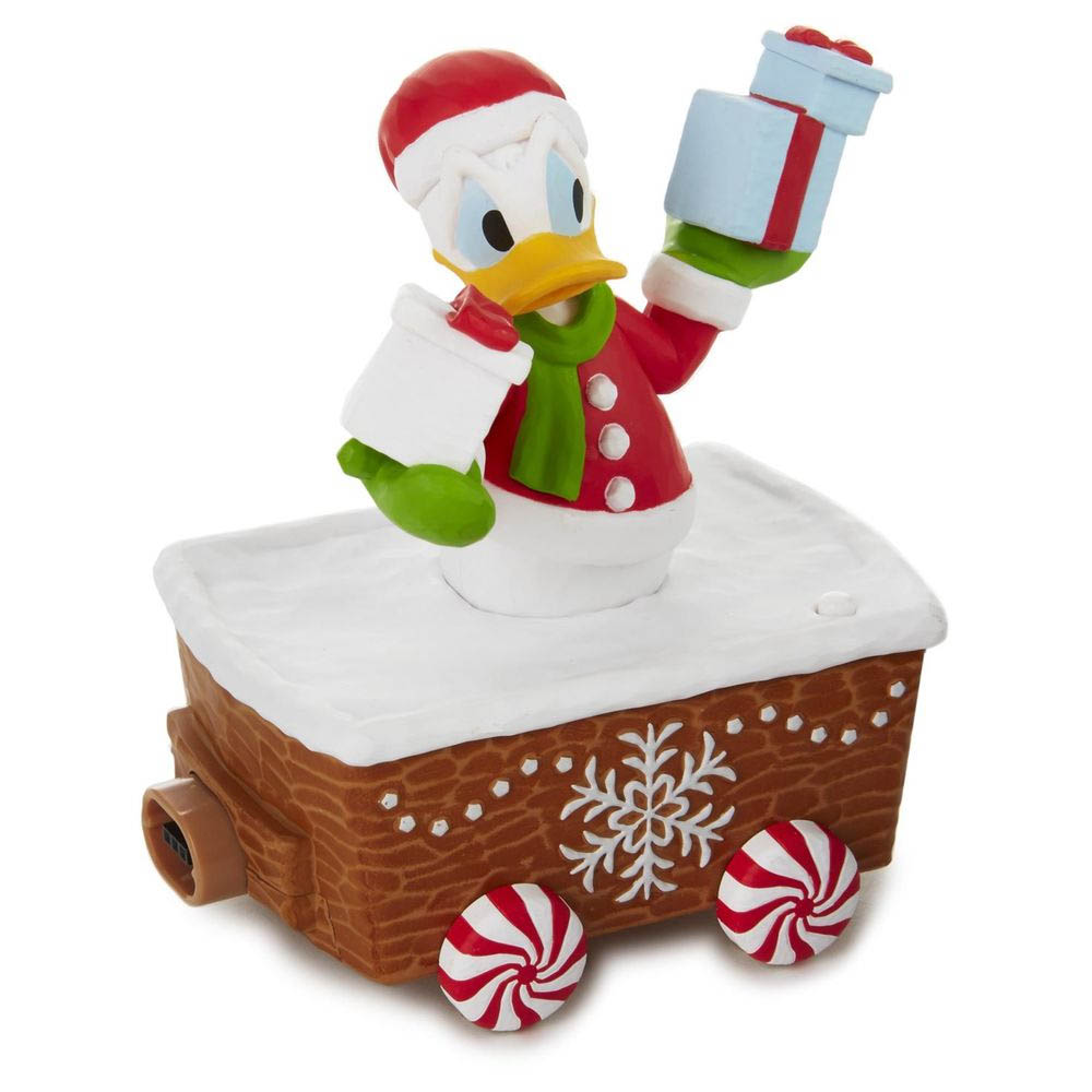 Hallmark Disney Christmas Express Donald Duck