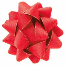 Hallmark Red Sparkle Bow, 5