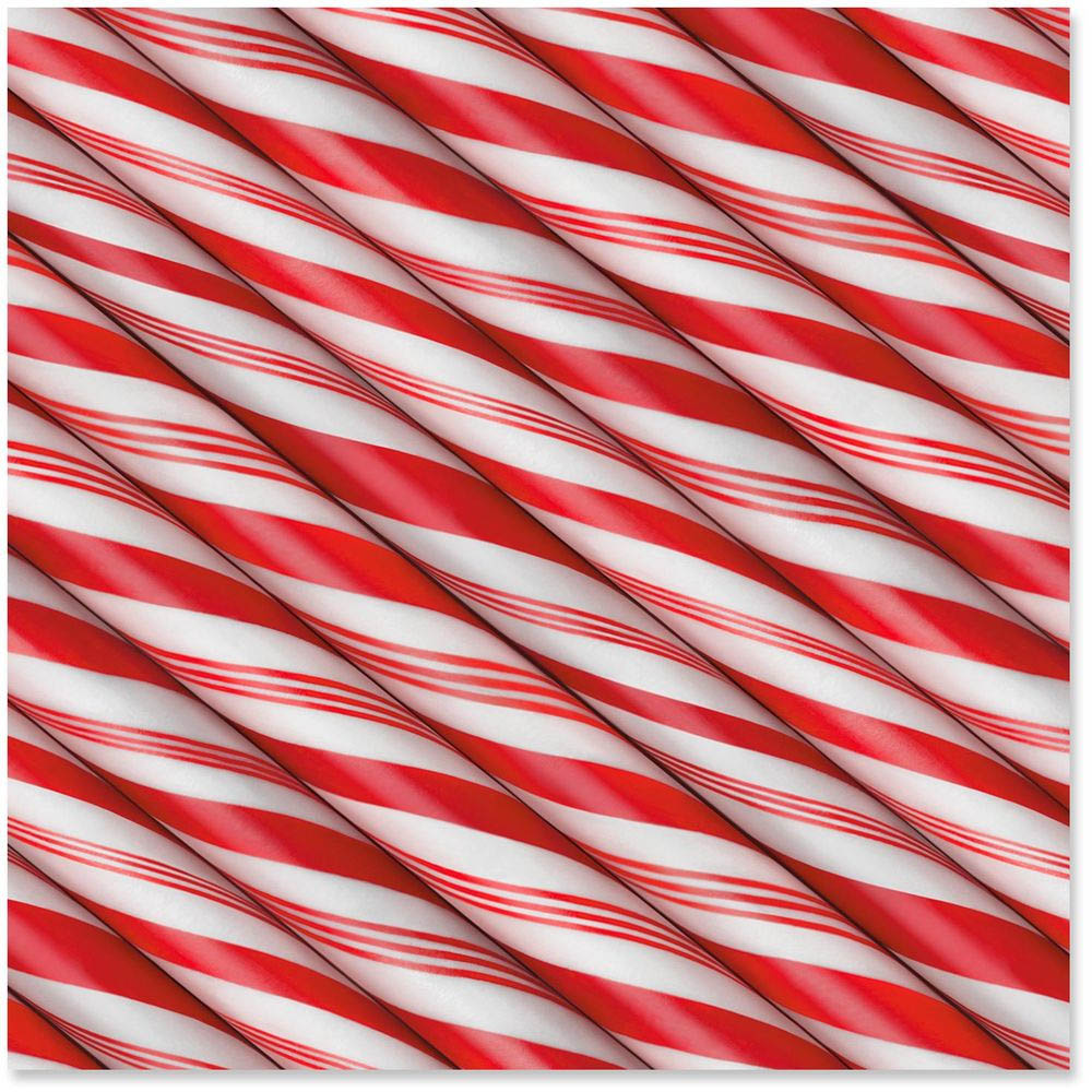 Hallmark Peppermint Sticks Supersize Wrapping Paper Roll, 80 sq. ft.
