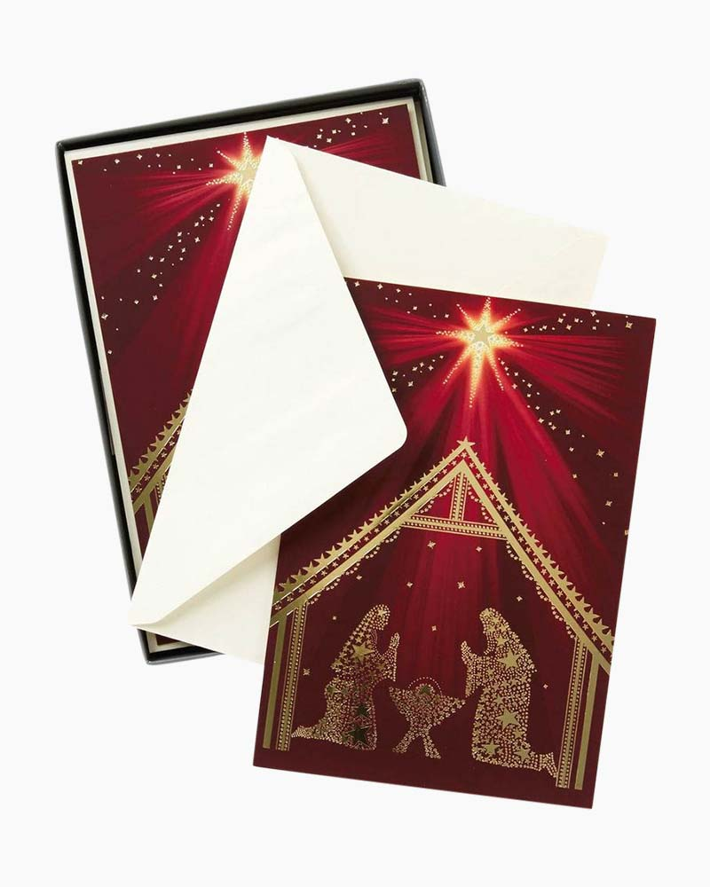 Hallmark Christmas Love Christmas Cards, Box of 16