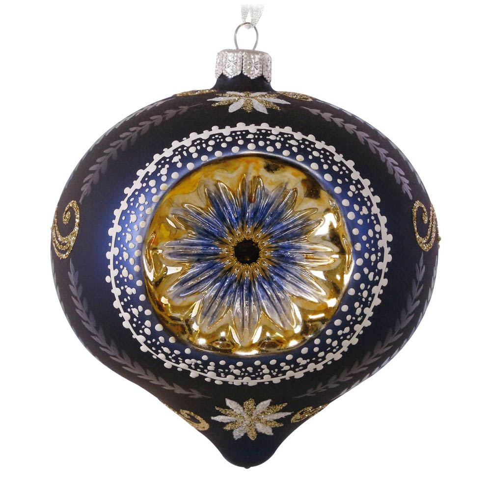 Hallmark Starburst Blown Glass Ornament