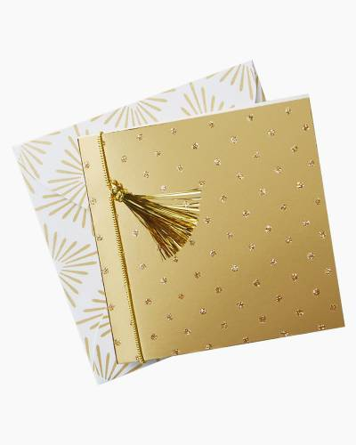 Gold Dots Gift Tag With Envelope