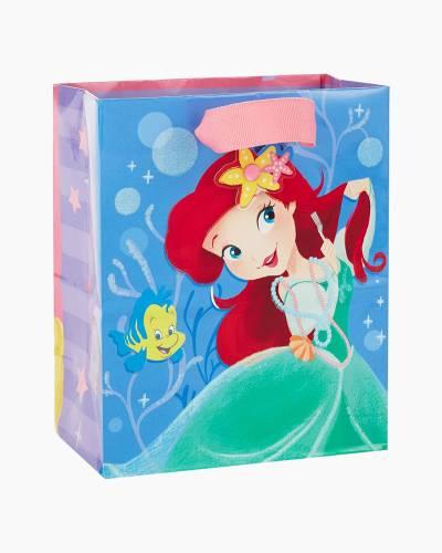 Disney Princess Ariel and Rapunzel Small Gift Bag, 6.5-inch