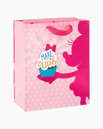Minnie Mouse With Cupcake Large Gift Bag, 13-inch