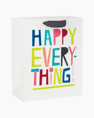 Happy Everything Large Gift Bag, 13-inch