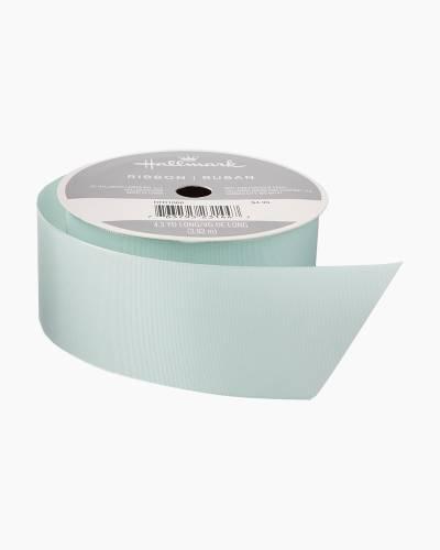 Mint 1.5-inch Taffeta Ribbon, 4.3 yards