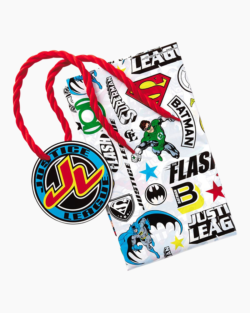 Hallmark JUSTICE LEAGUE Plastic Giant Gift Bag With Yarn Tie, 56