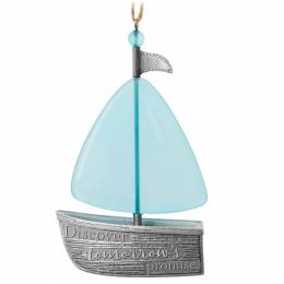 Hallmark Discover Tomorrow's Promise Sailboat Ornament