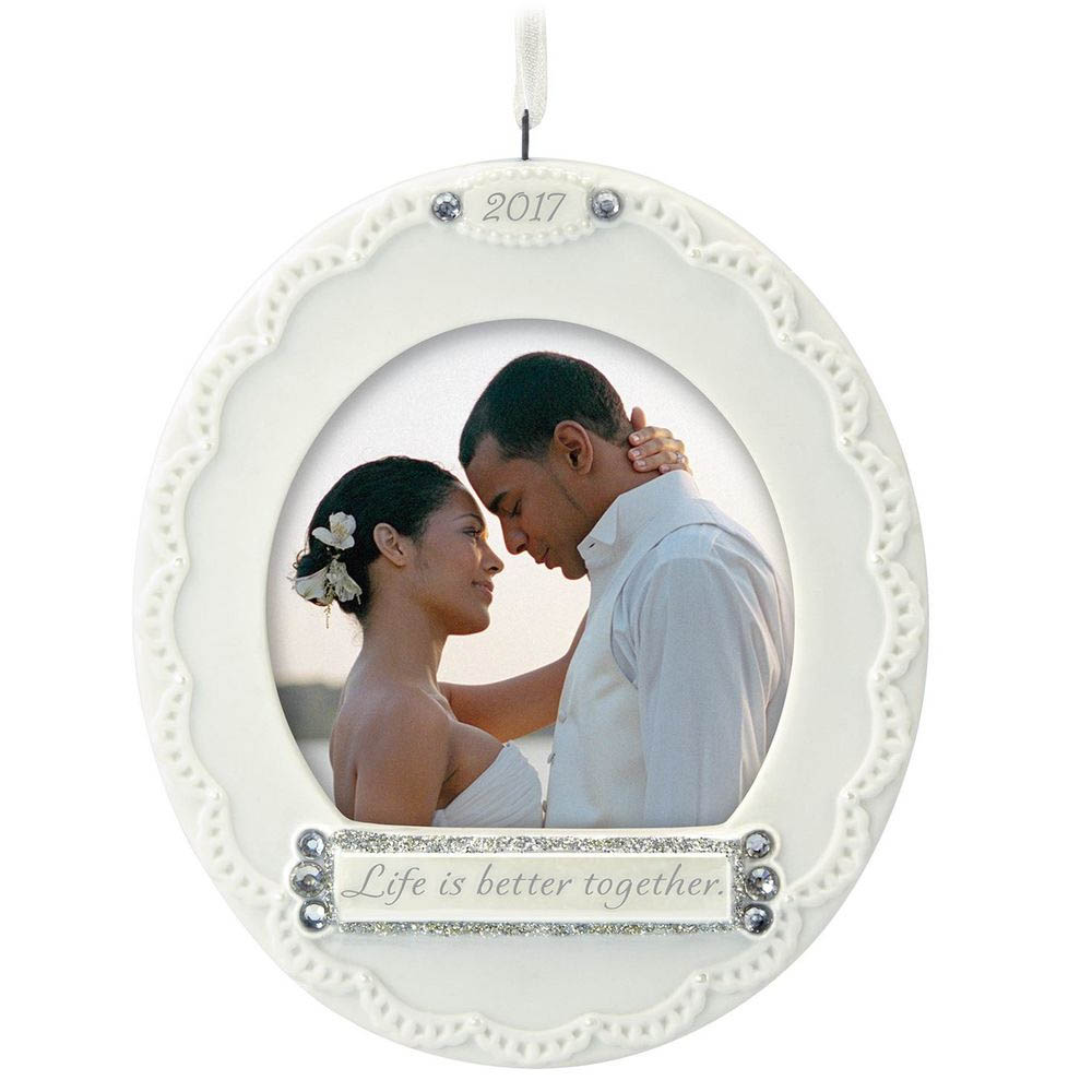 Hallmark Life Is Better Together 2017 Photo Holder Ornament