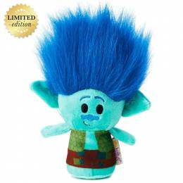 Hallmark itty bittys DreamWorks Trolls Branch Stuffed Animal Limited Edition