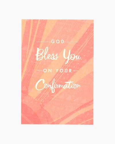 Confirmation Congratulations for Anyone Card