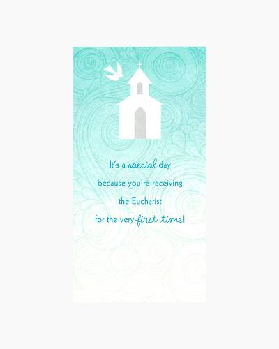 First Communion Money Holder Card
