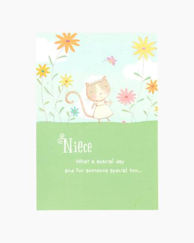 Congratulations for Niece First Communion Card