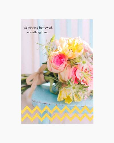 Something Lovely Just for You Wedding Shower Card