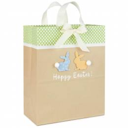 Hallmark Happy Easter Bunnies Large Gift Bag, 13