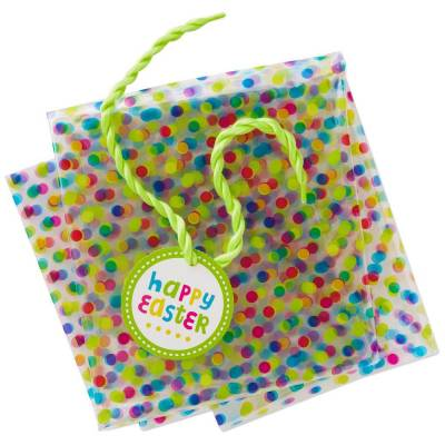 Hallmark clear easter basket bag 28 the paper store hallmark clear easter basket bag 28 negle Images