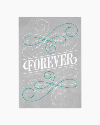 Forever Engagement Card