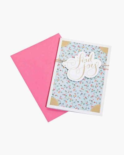 Find Joy Birthday Card