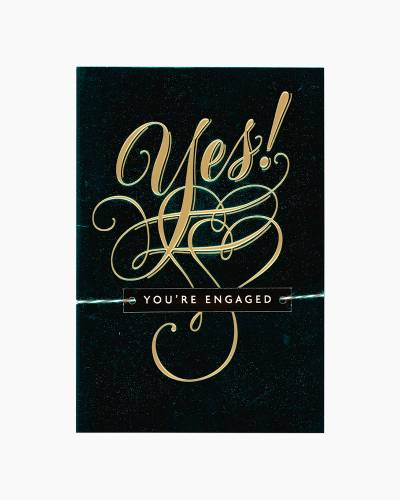 Yes! Engagement Card