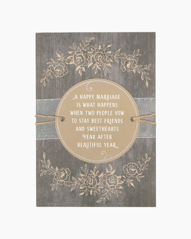 Hallmark Happy Marriage Anniversary Card The Paper Store
