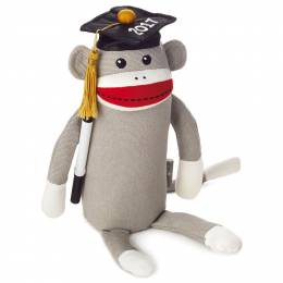 Hallmark 2017 Autograph Monkey Stuffed Animal