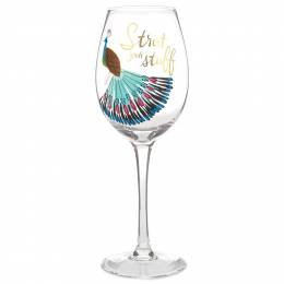 Strut Your Stuff Wine Glass, 15.8 oz.