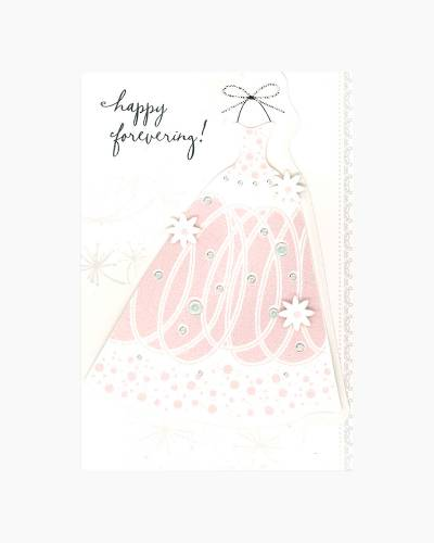 Happy Forevering Wedding Card