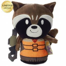 Hallmark itty bittys Guardians of the Galaxy Rocket Raccoon Stuffed Animal Limited Edition