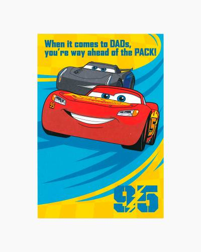 Cars 3 Father's Day Card