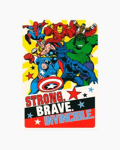 Marvel Super Heroes Father's Day Card