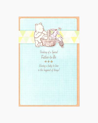 Winnie the Pooh Father's Day Card for Father-to-Be