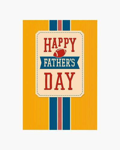 Vintage Athletic Father's Day Card for Stepfather