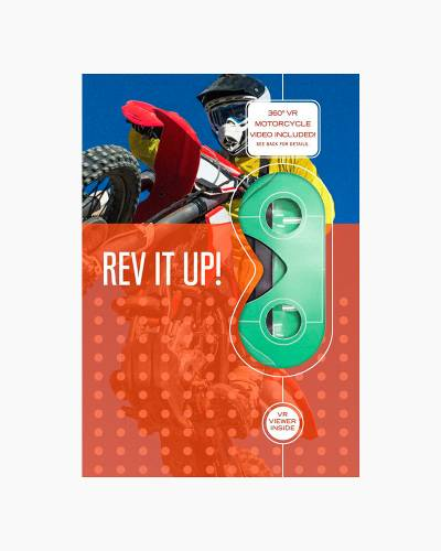 Rev It Up! Motocross VR Father's Day Card