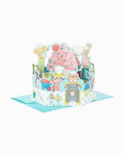 Wonderfolds Sweet as a Cupcake Pop Up Birthday Card