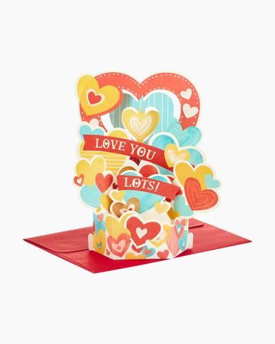 Wonderfolds  Bouquet of Hearts Pop Up Love Card