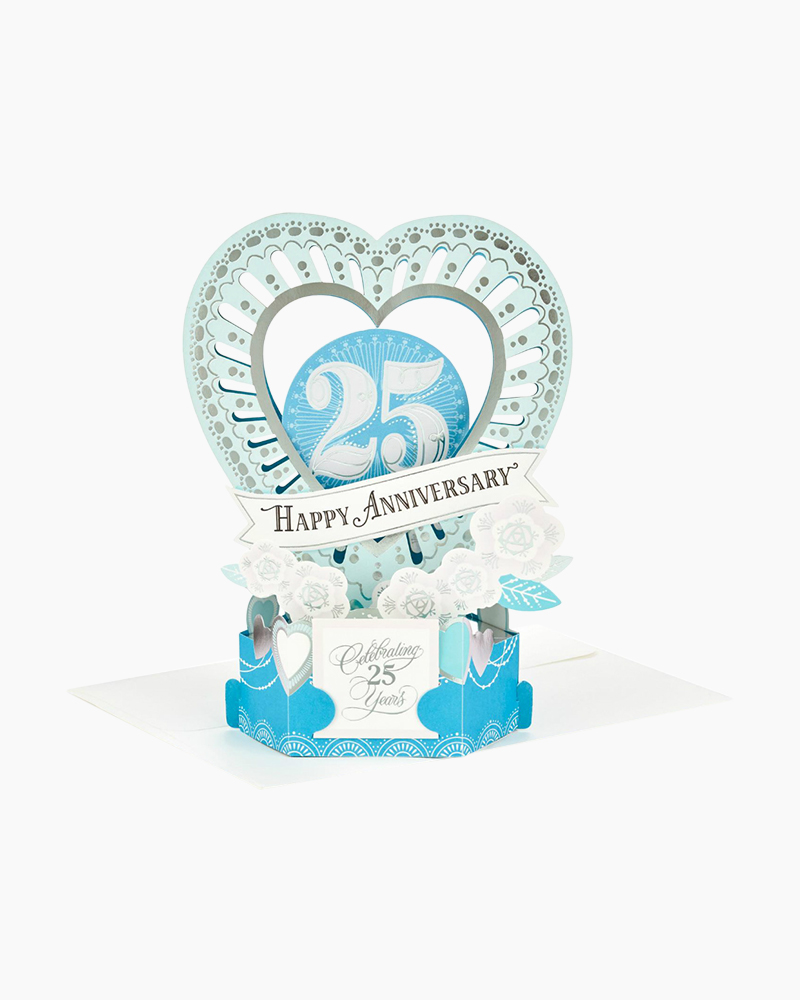 hallmark wonderfolds celebrate the years pop up 25th