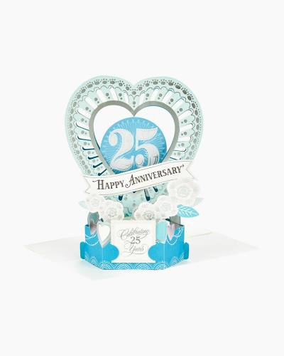 Wonderfolds Celebrate the Years Pop Up 25th Anniversary Card