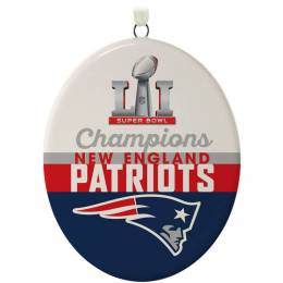 Hallmark New England Patriots Super Bowl LI Commemorative Ornament