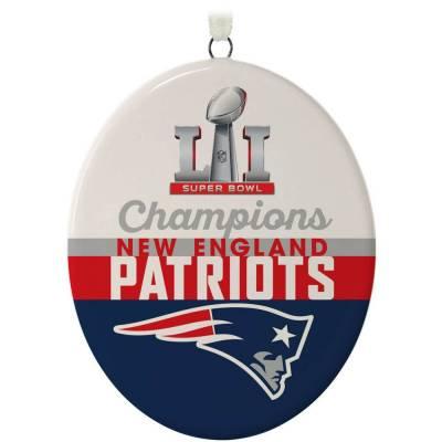 New England Patriots Super Bowl LI Commemorative Ornament
