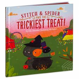 Hallmark Stitch and Spider and the Trickiest Treat! Halloween Book