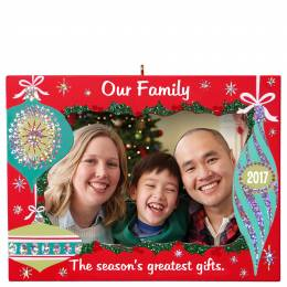 Hallmark Our Family Greatest Gifts Picture Frame Ornament