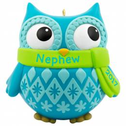 Hallmark Cute Owl Nephew Ornament