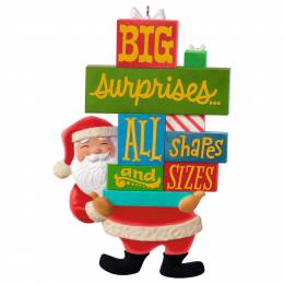 Hallmark Santa's Big Surprise Ornament