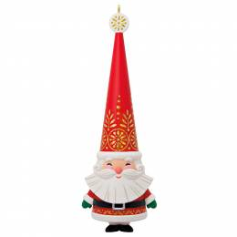 Hallmark Jolly Santa Ornament