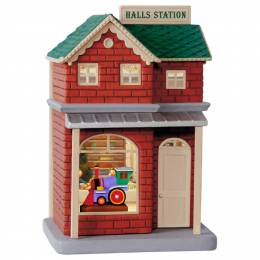 Hallmark Keepsake Korners Halls Station Ornament