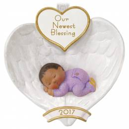 Hallmark African-American Baby's First Christmas Ornament
