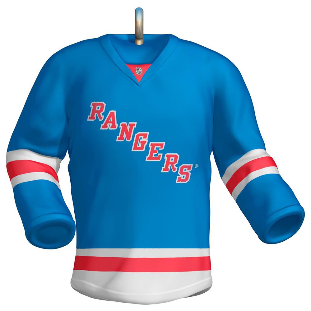 wholesale dealer 0954a 1b56b NHL New York Rangers Jersey Ornament
