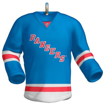 NHL New York Rangers Jersey Ornament
